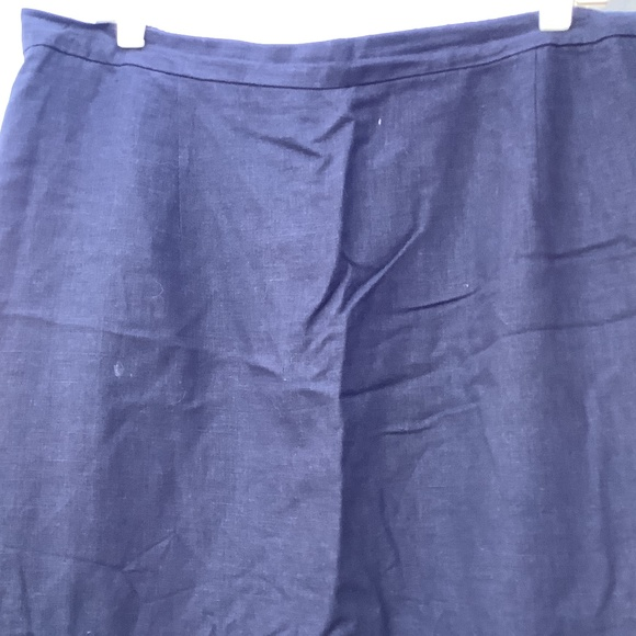 Plus size 20 solid woman color skirt